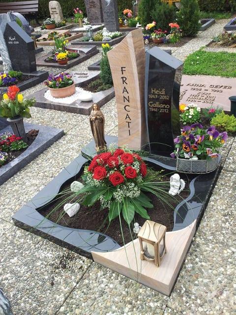 Beispiele Unserer Urnengraber Urnengrabsteine 10