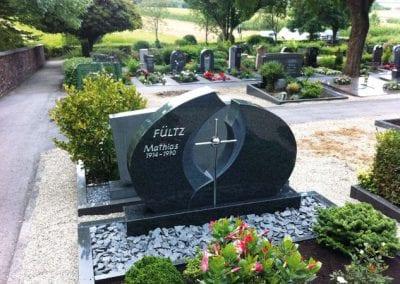 Doppelgrab Grabsteine