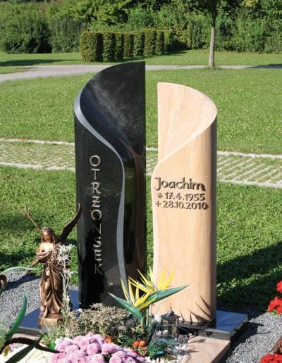 Grabstein Einzelgrab